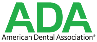 the official logo for American Dental Association