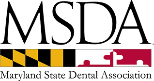 the official logo for Maryland State Dental Association